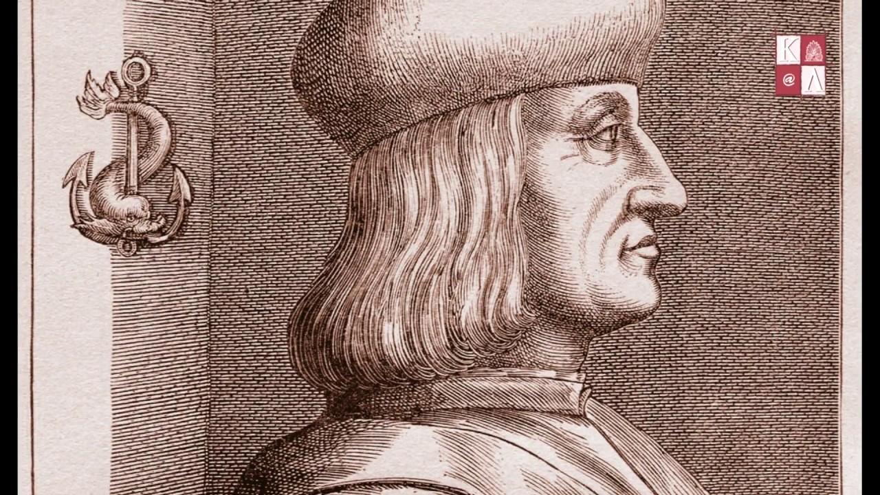 Aldus Manutius - Bien loin de la typographie gratuite