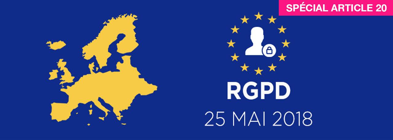 RGPD Article 20 2018