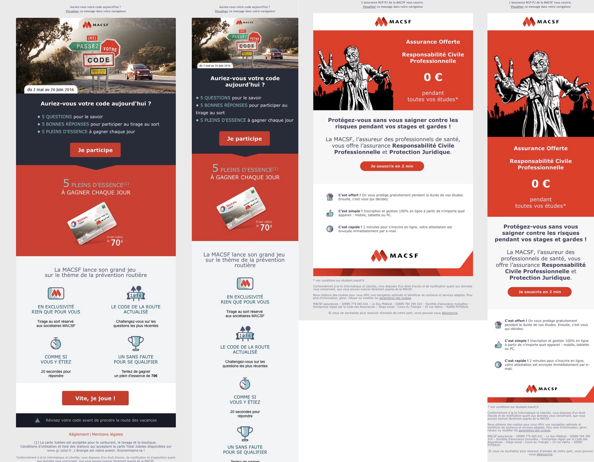 exemple integration emailing responsive