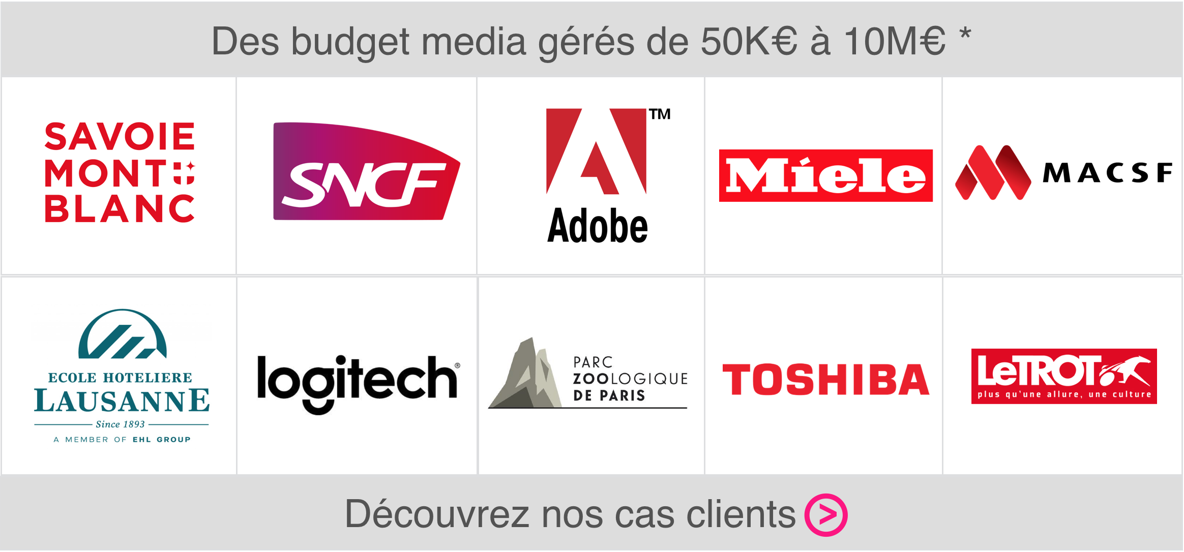 cas clients agence media eficiens