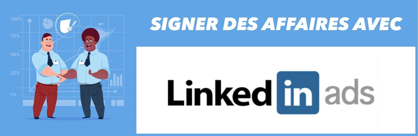agence Linkedin ads entete