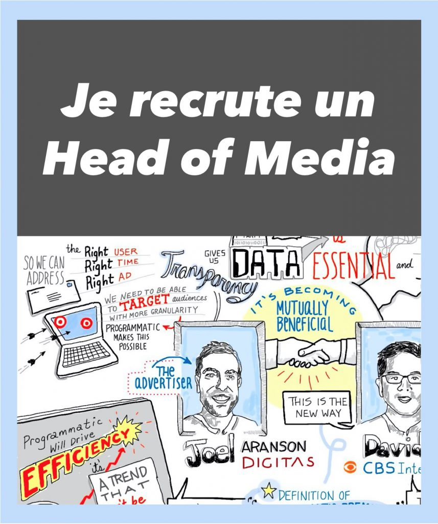 je recrute head of media