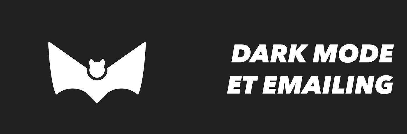 dark mode newsletter header