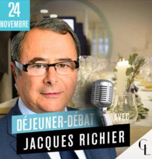 salon assurance déjeuner débat Jacques Richier