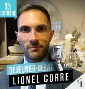 salon assurance déjeuner débat Lionel Corre