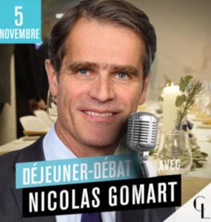 salon assurance déjeuner débat Nicolas Gomart