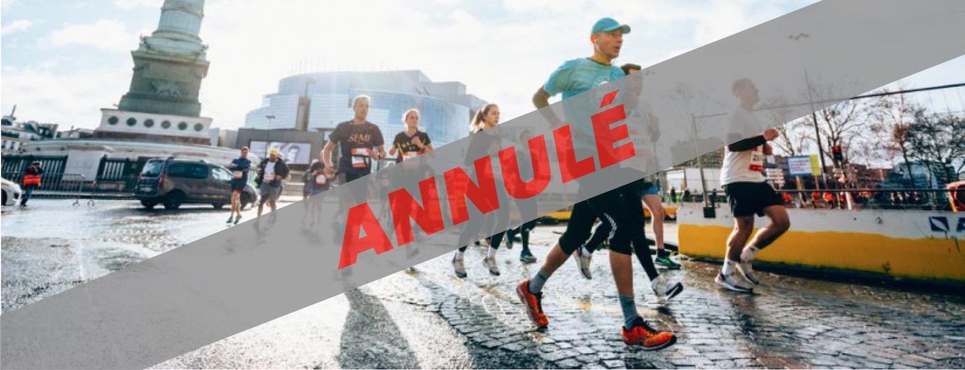 semi marathon paris annulation fevrier 2020