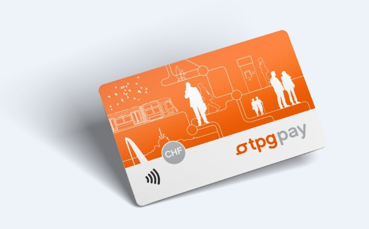 tpg pay nfc transports urbains