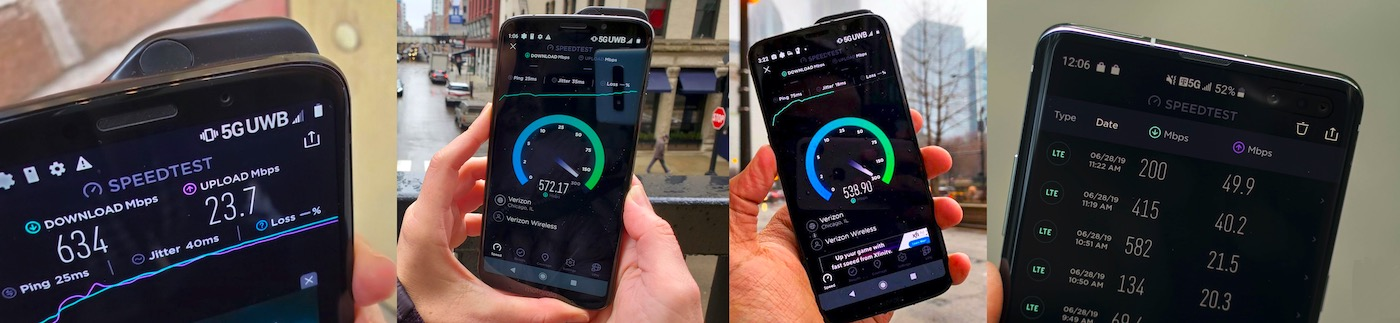 android speedtest 5G
