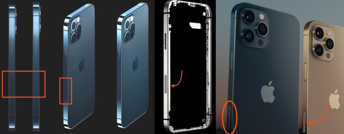 iphone 12 fenetre chassis radio transparente 5G millimetrique