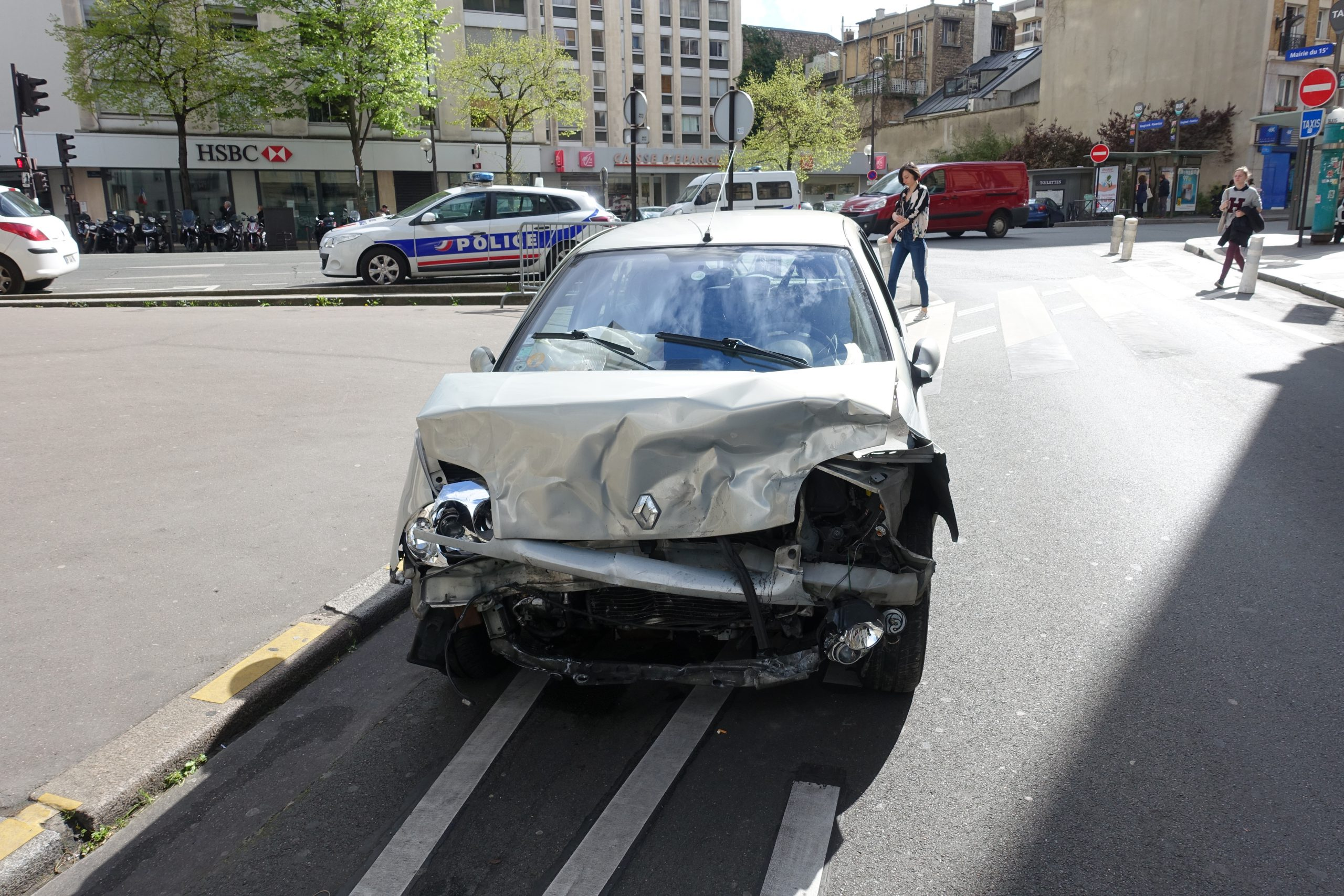 Couverture IARD accident