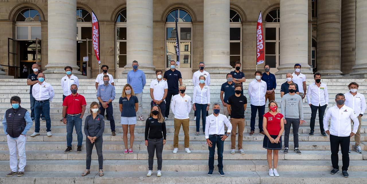 Photo-des-Skippers-vendee globe 2020