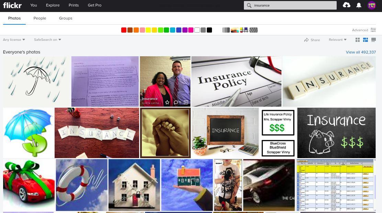 exemple image assurance flickr