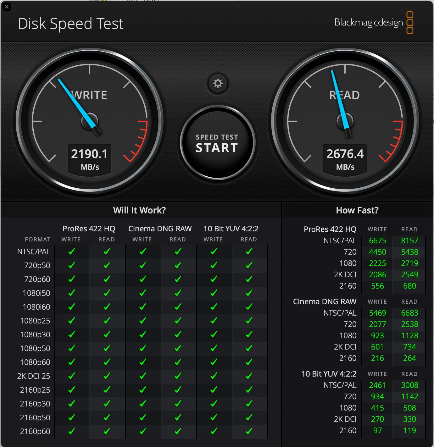 benchmark macbook air m1 SSD
