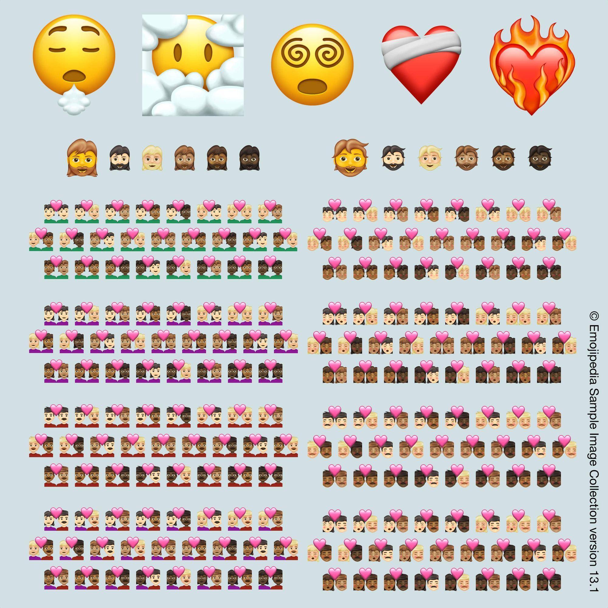 emojipedia-version-13-1 les emojis pour -2021