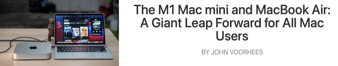 mac m1 stories vitesse