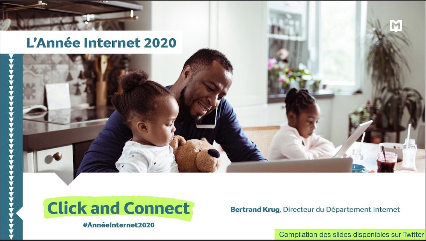Mediametrie Annee Internet 2020 slides