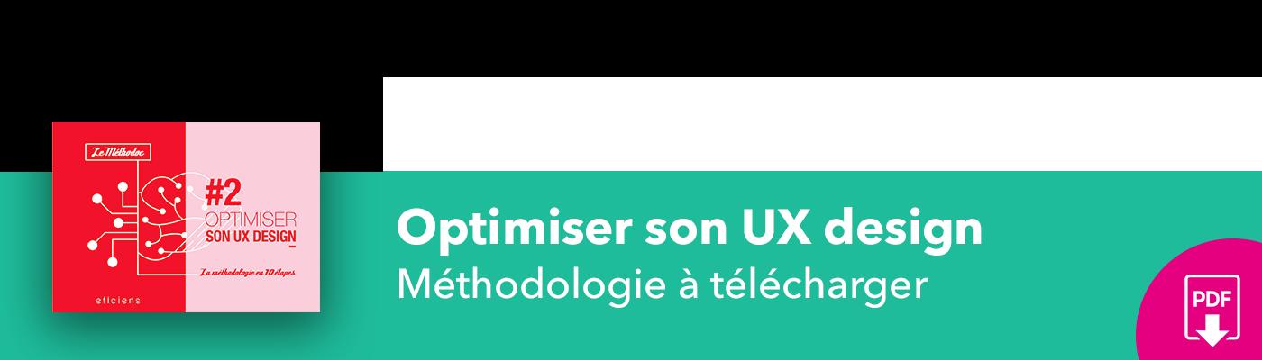 Bannière méthodoc #2 Optimiser son UX design