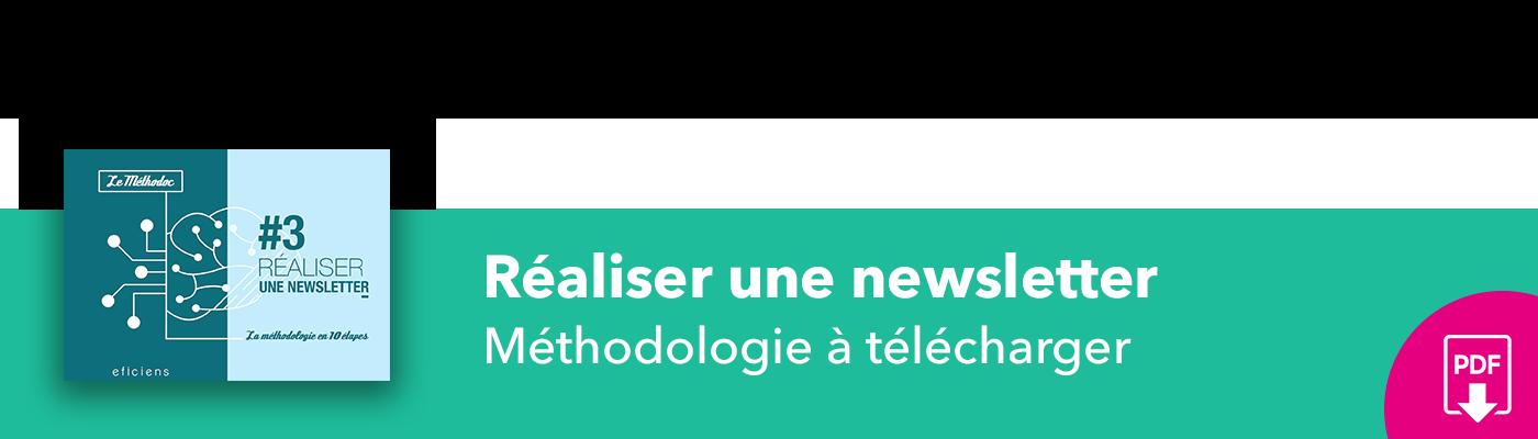 Bannière méthodoc #3 Réaliser une newsletter