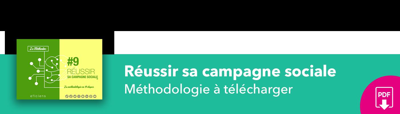 Bannière méthodoc #9 Réussir sa campagne sociale