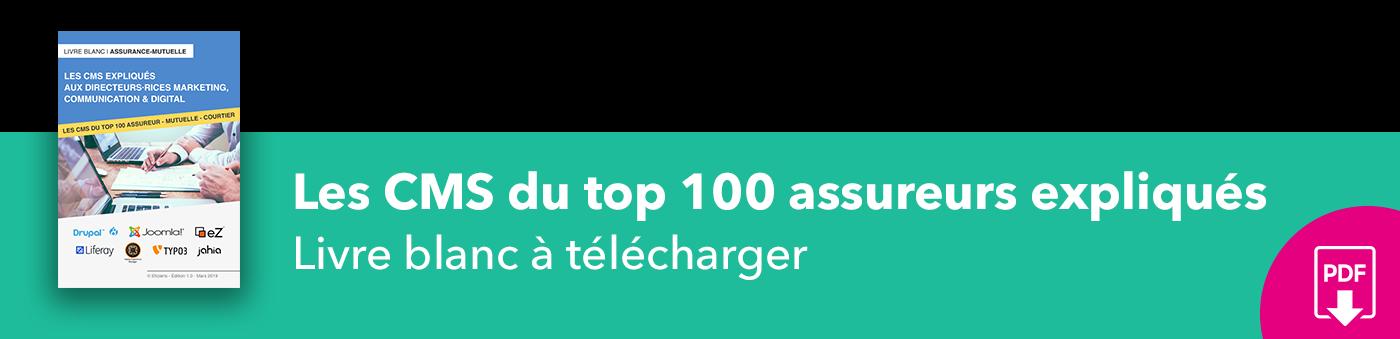 Bannière Les CMS du top 100 assureurs expliqués