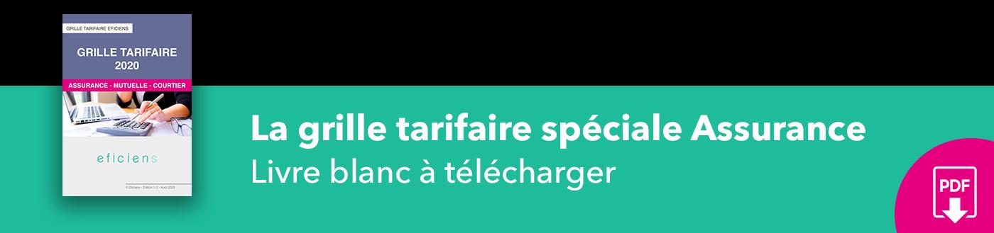 Bannière La grille tarifaire spéciale Assurance
