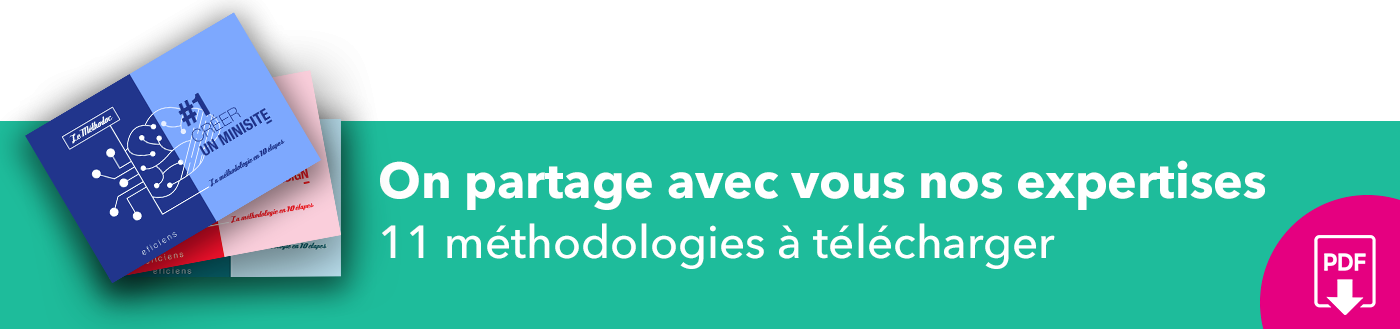 Bannière 11 méthodologies à télécharger