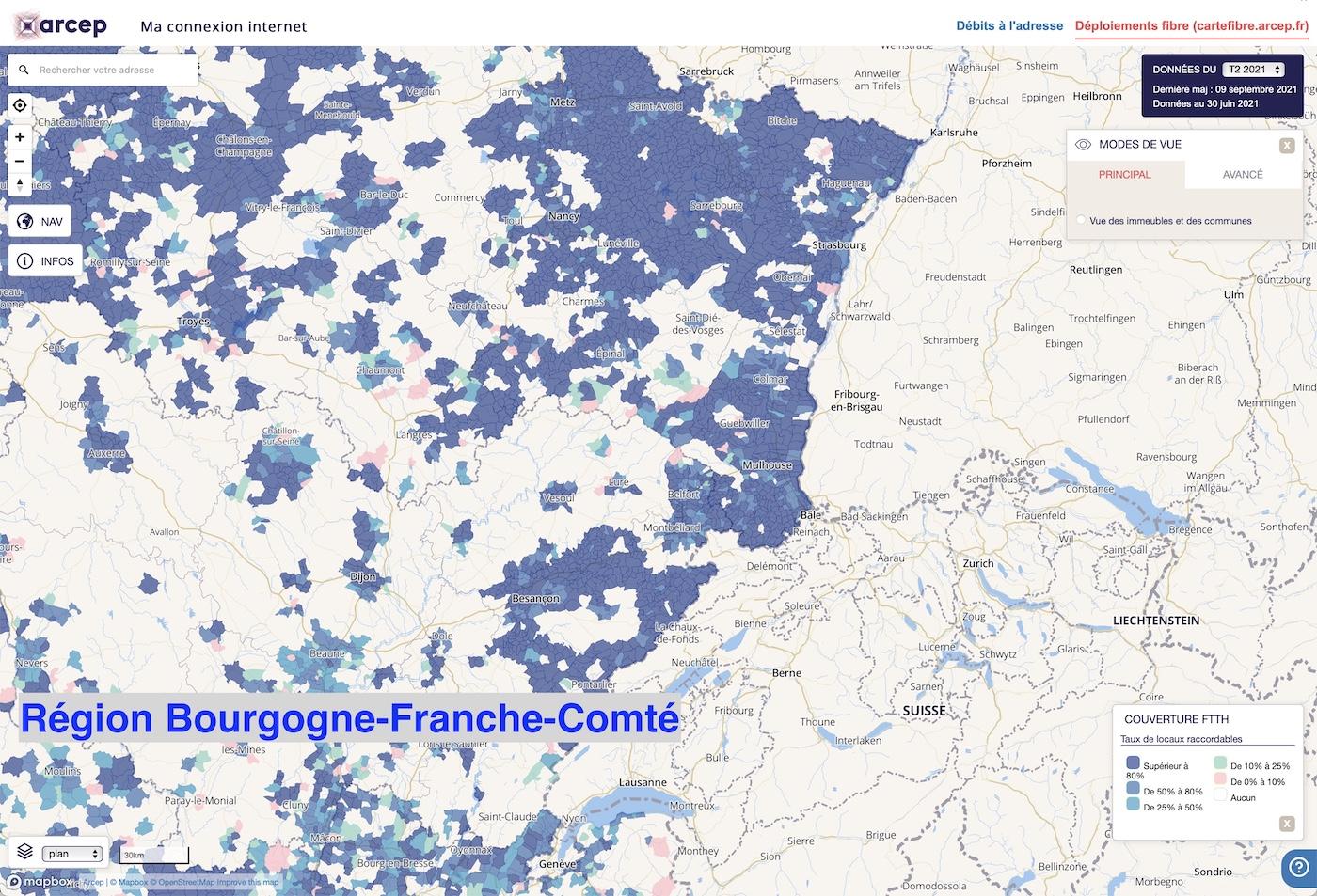 eligibilite fibre region bourgogne franche comte