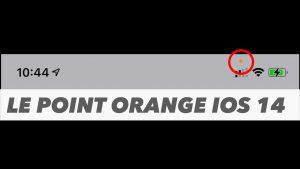 le point orange ios 14 header